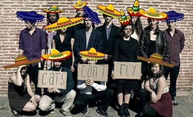 Visueel van project Cats Can't Fly (to mexico?)