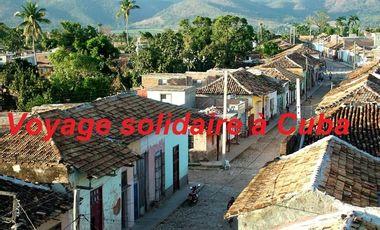 Project visual Voyage solidaire à Cuba