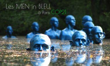 Visuel du projet MEN in BLEU: ils marchent sur l'eau !