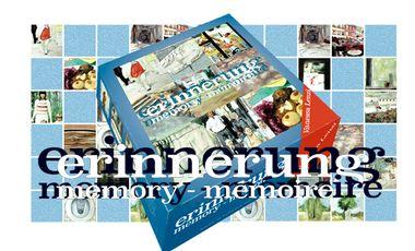 Visuel du projet «Erinnerung » : édition d'un jeu-objet d'art