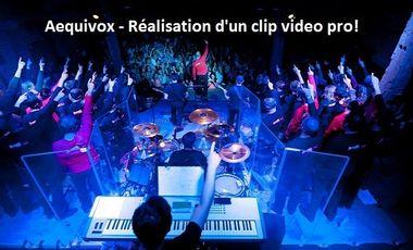 Visuel du projet Aequivox - Réalisation d'un clip vidéo professionnel