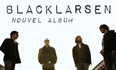 Visueel van project Blacklarsen / Nouvel Album