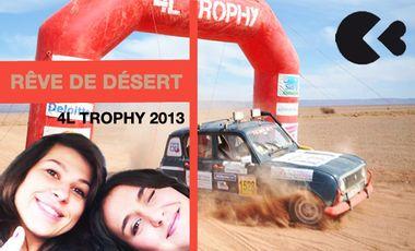 Visueel van project Rêvez de désert avec nous ! 4L trophy 2013