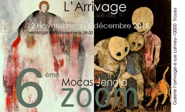Visueel van project Mocas & Jenola, 6ème Zoom à l'Arrivage