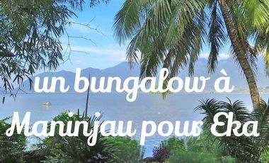 Project visual Un bungalow à Maninjau pour Eka