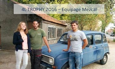Project visual Equipage Mezcal - 4L Trophy 2016