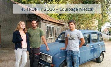 Visueel van project Equipage Mezcal - 4L Trophy 2016