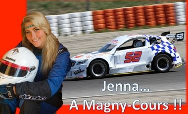 Project visual Jenna... A Magny-Cours !!