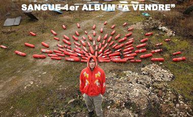 Visuel du projet SANGUE -A VENDRE - 1er ALBUM !