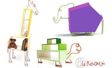 Visueel van project Le Rêvorium fait rêver les enfants par des meubles originaux!