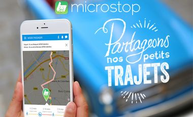 Visuel du projet Microstop, partageons nos petits trajets