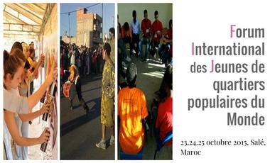 Visuel du projet RIO - RABAT : 4ème édition du Forum international des Jeunes de quartiers populaires du monde
