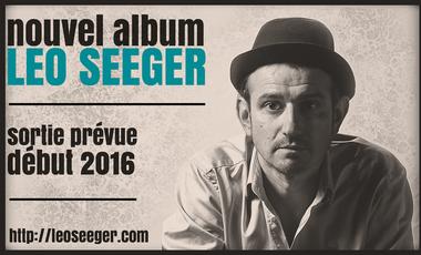 Project visual 4ème album de Leo Seeger
