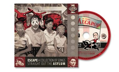 Visuel du projet ESCAPE - A Collection Of Songs Straight Out The ASYLUM (Tribute CD)