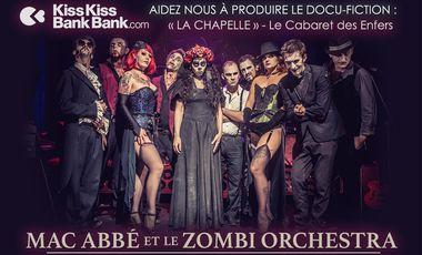 Visueel van project Mac Abbé & Le Zombi Orchestra au Cabaret des enfers.