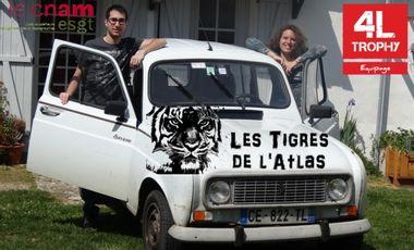 Visuel du projet Deux Tigres dans le Désert