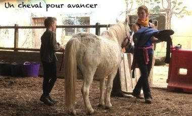 Project visual Un cheval pour avancer