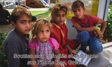 Visueel van project Soutien aux réfugiés et migrants sur l'île de Kos, Grèce