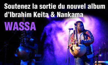 Visuel du projet Appel au soutien pour le nouvel album d'Ibrahim Keita et Nankama
