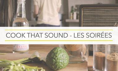 Project visual Cook that Sound - Les soirées
