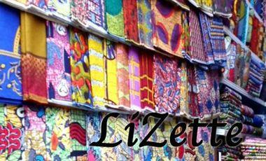 Visueel van project Lizette: un univers fait de pagnes et de mode