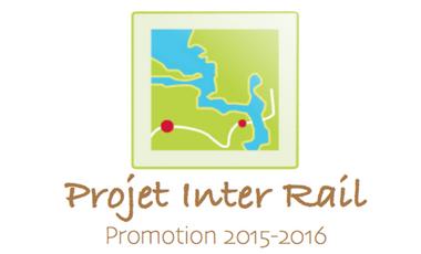 Project visual Voyage scolaire Inter Rail - IUT Jeunes Etudiants