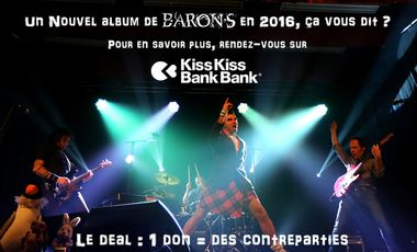 Project visual 2e Album du BARON DE VEZELINE : POLE DANCING SONGS
