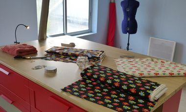 Project visual Création d'un atelier de confection certifié BIO à Brest