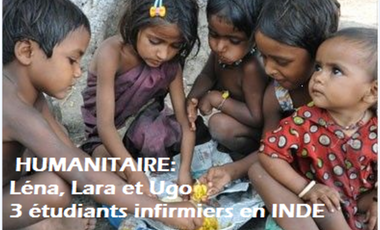 Project visual Etudiants infirmiers: Stage Humanitaire INDE