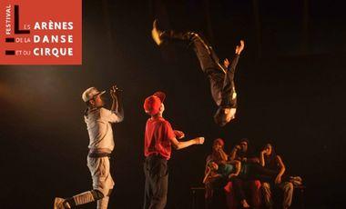 Project visual Les Arènes de la Danse et du Cirque
