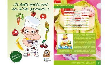 Visueel van project Le petit guide vert des p'tits gourmets