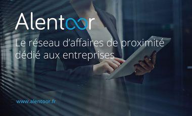 Visuel du projet Alentoor.fr, le réseau d'affaires de proximité dédié aux entreprises