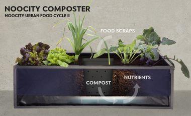 Visueel van project The Noocity Urban Food Cycle - Part 2 - The Composter