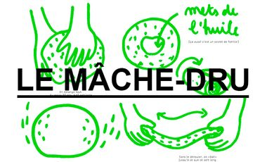 Visueel van project Exposition Mâche-dru, les recettes dessinées