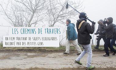 """Visueel van project """"Chemins de travers"""""""