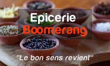 Visuel du projet Epicerie Boomerang : la 1ère épicerie sans emballage jetable dans les Alpes-Maritimes.