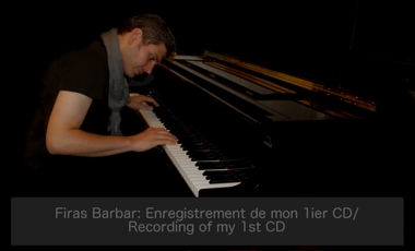 Project visual Enregistrement d'un CD / CD Recording