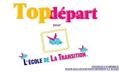 Visueel van project Top départ pour L'École de la Transition !