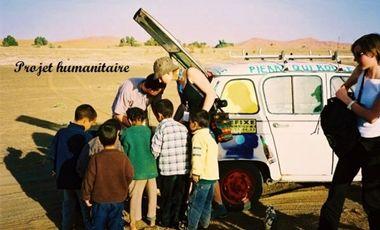 Visueel van project Soutien aux enfants du désert