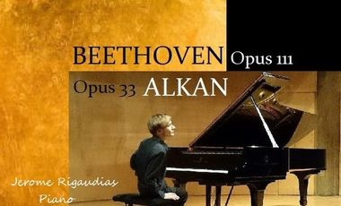 Project visual Récital Alkan Beethoven