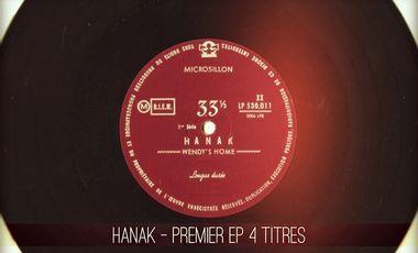 Visueel van project HANAK - PREMIER EP 4 TITRES