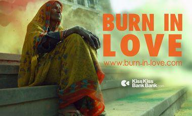 Visueel van project BURN IN LOVE