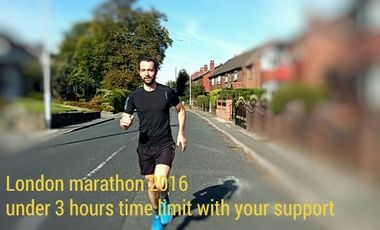 Visuel du projet Participation in the London Marathon 2016