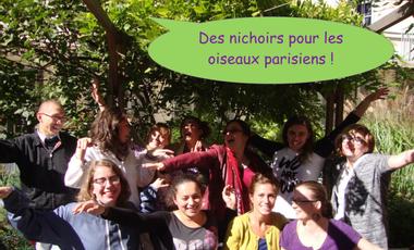 Visueel van project Nichoirs pour oiseaux parisiens