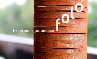 Project visual FOLO - Expérience lumineuse