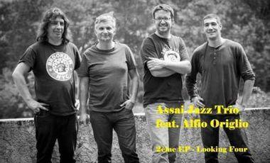 "Project visual Assai Jazz Trio feat. Alfio Origlio - 2ème LP ""Looking four"""