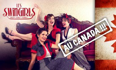 Visueel van project Les Swingirls au Canada !
