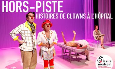 Project visual Hors-Piste, histoires de clowns à l'hôpital