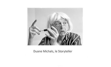 Visueel van project Duane Michals, le Storyteller