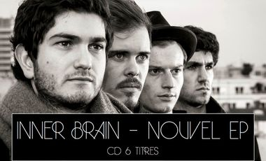 Visueel van project Le groupe INNER BRAIN - Nouvel EP (CD 6 titres)